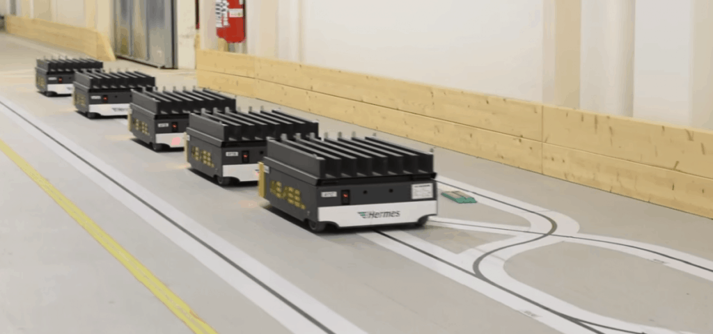 Automated guided vehicles